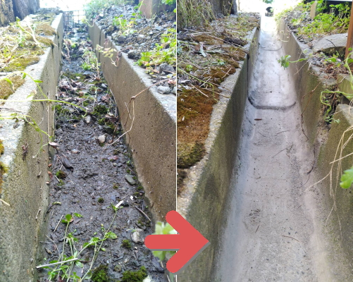 雨水排水路